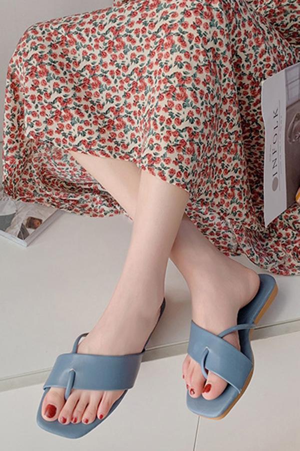 케이드 쪼리 원슬링 여성 데일리 여름슬리퍼 (블랙,핑크레드,아이보리화이트,블루)S200508P034