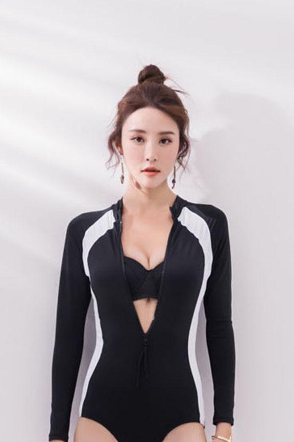 와이어 영끌 푸쉬업 래쉬가드 수영복 세트S210616H073SW